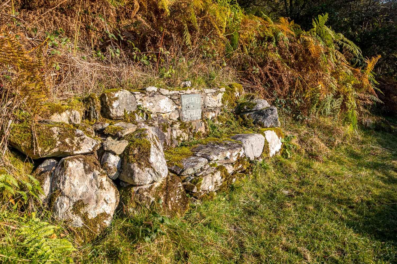 Stone bench, Ullswater