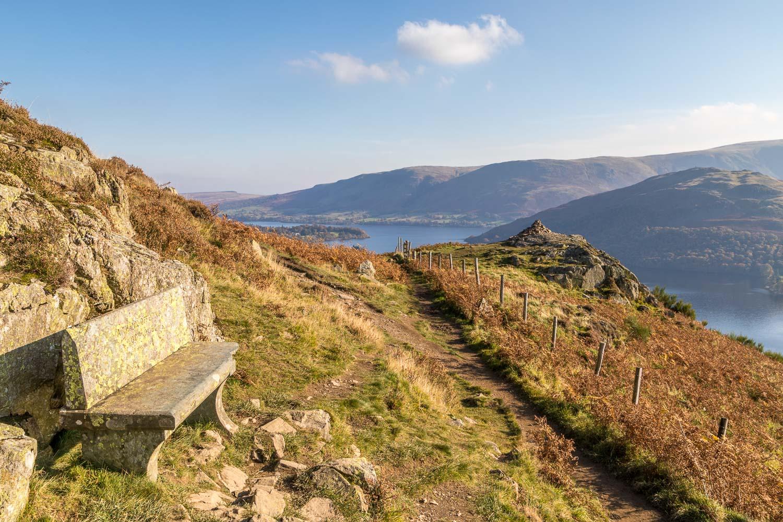Memorial Seat Ullswater