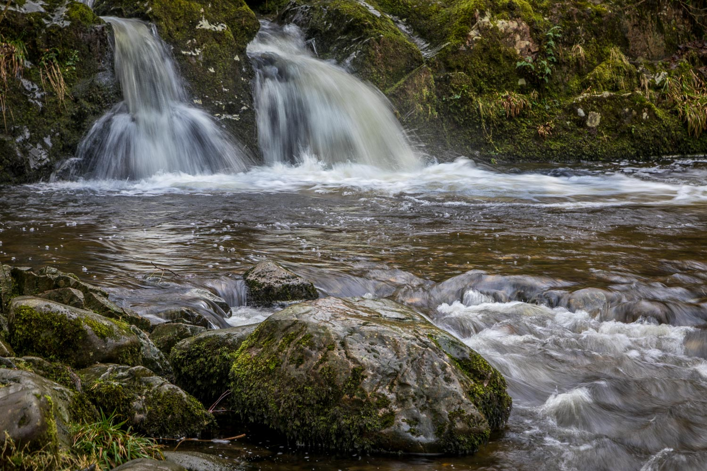 Aira Beck waterfalls
