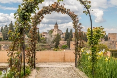 Alhambra,  Generalife Gardens