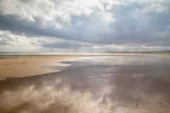 Alnmouth Bay, beach