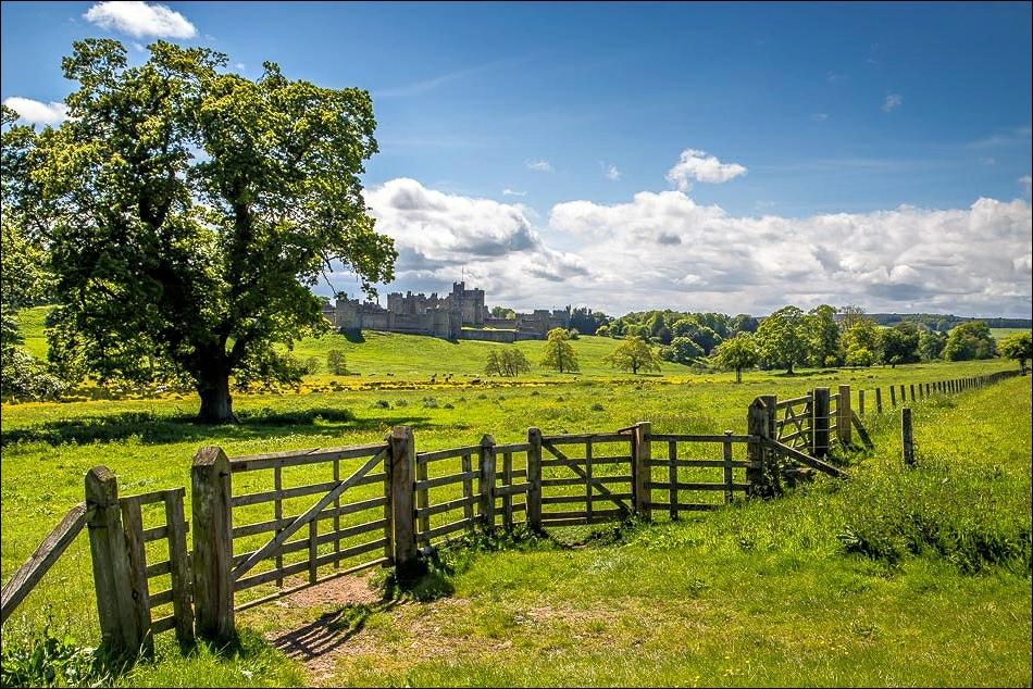 Alnwick Castle walk