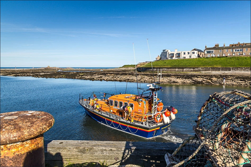 lifeboat RNLB Grace Darling, Seahouses