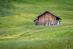Alpe de Siusi barn