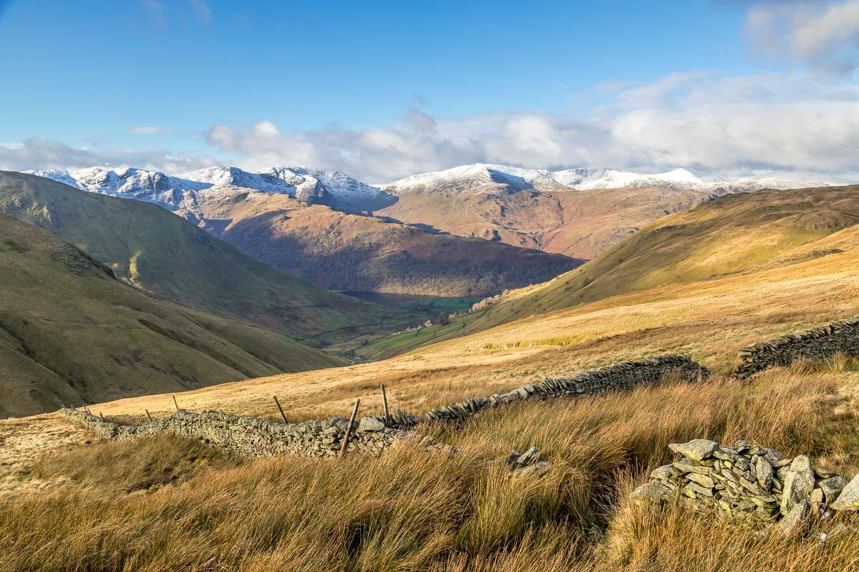 Angletarn Pikes walk, Fairfield, St Sunday Crag