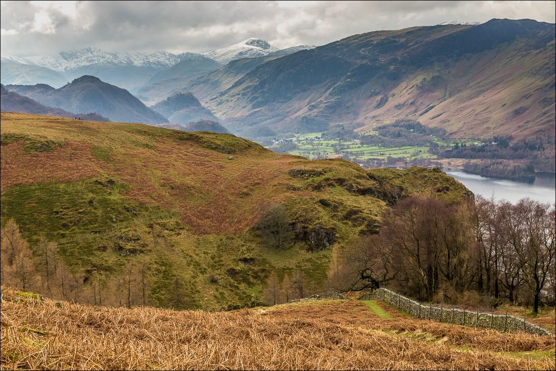 Falcon Crag walk, Lake District, Borrowdale