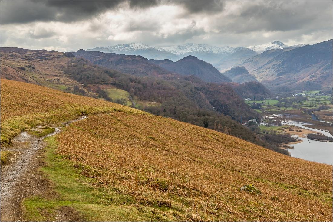 Falcon Crag walk, Borrowdale, Lake District