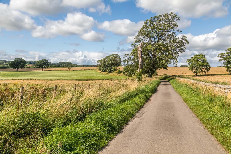 Corbridge walk, Aydon Castle walk