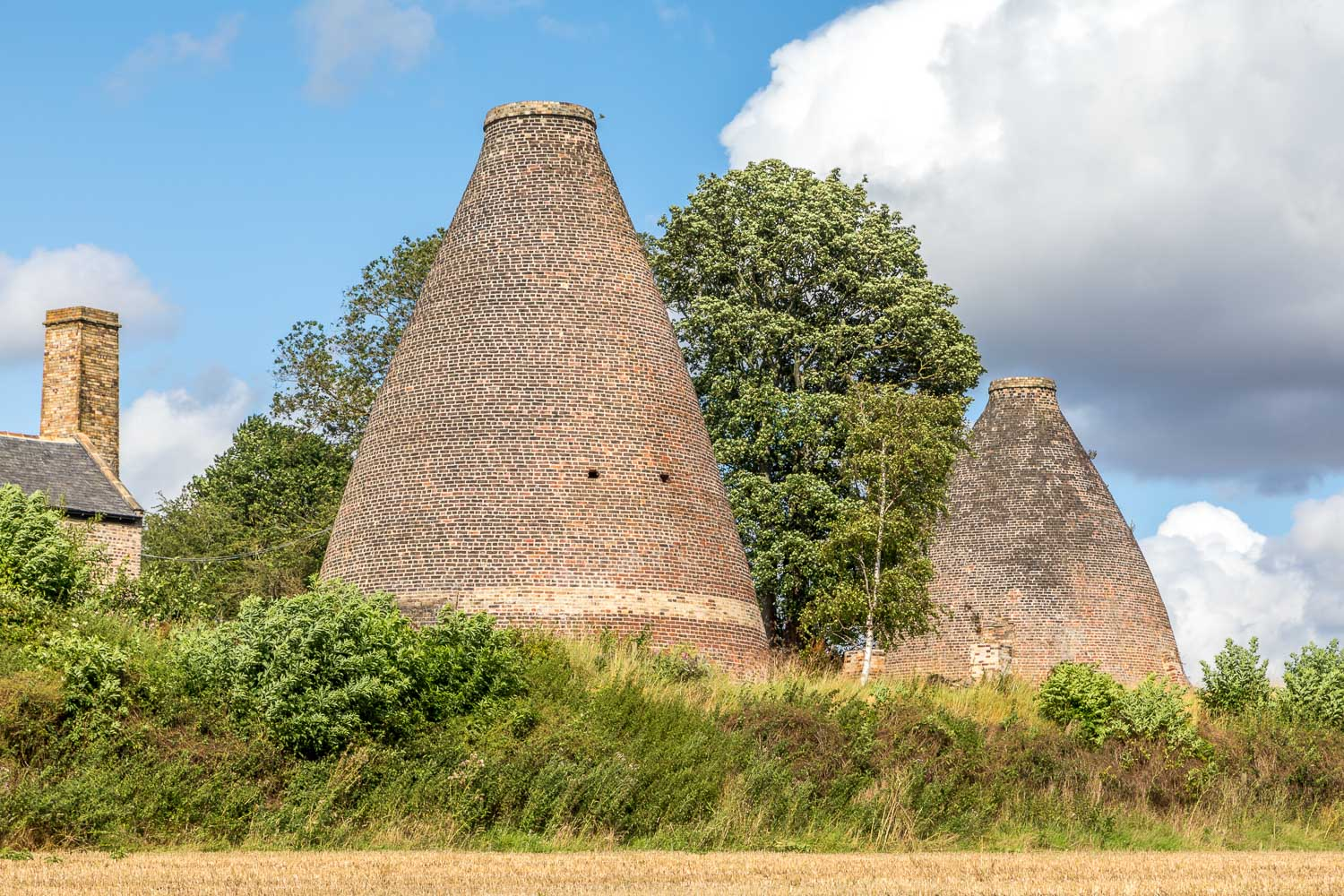 Walkers Pottery, bottle kilns