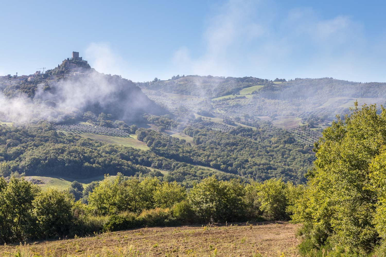 Bagno Vignoni circuit, Rocca d'Orcia