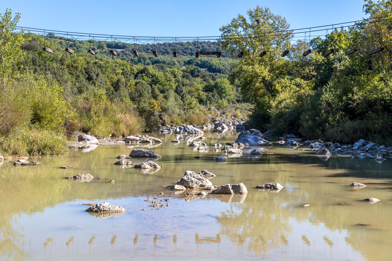 Bagno Vignoni circuit, River Orcia