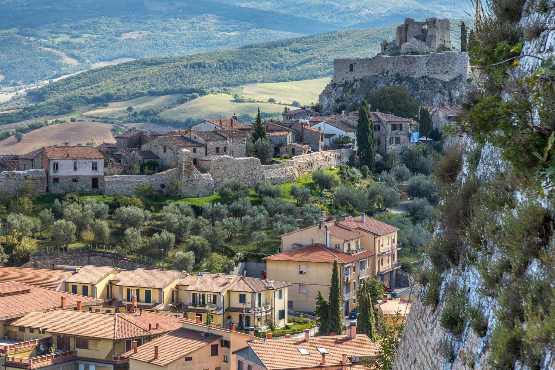 Rocca d'Orcia, Rocca di Tentennano, Castiglione d'Orcia