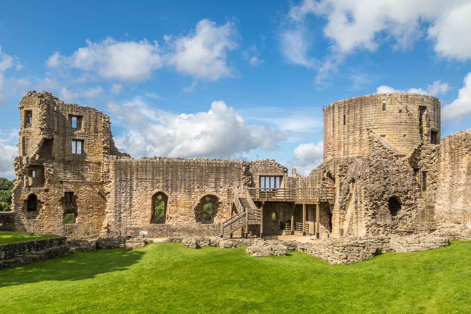 Barnard Castle walk, Mortham Tower, Round Tower