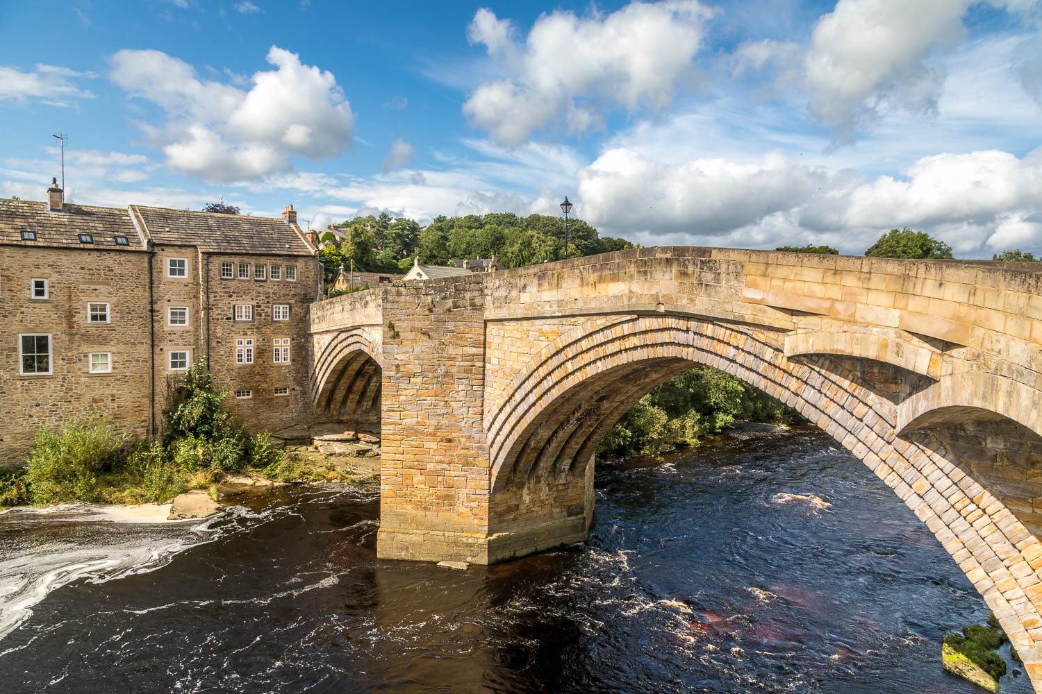 Barnard Castle walk, Castle Bridge
