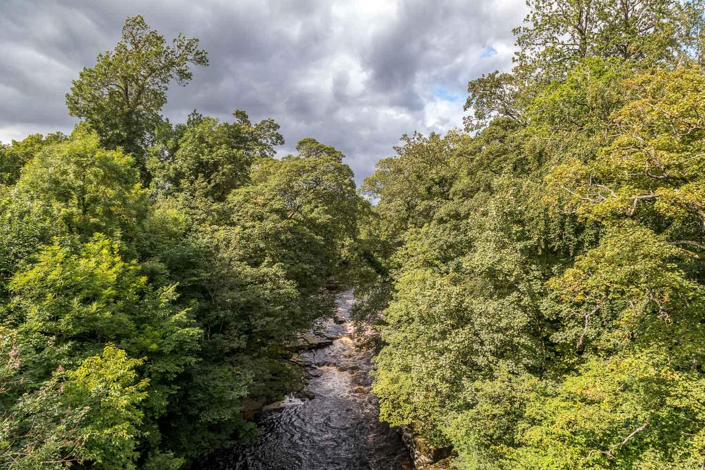 Barnard Castle walk, Abbey Bridge, River Tees