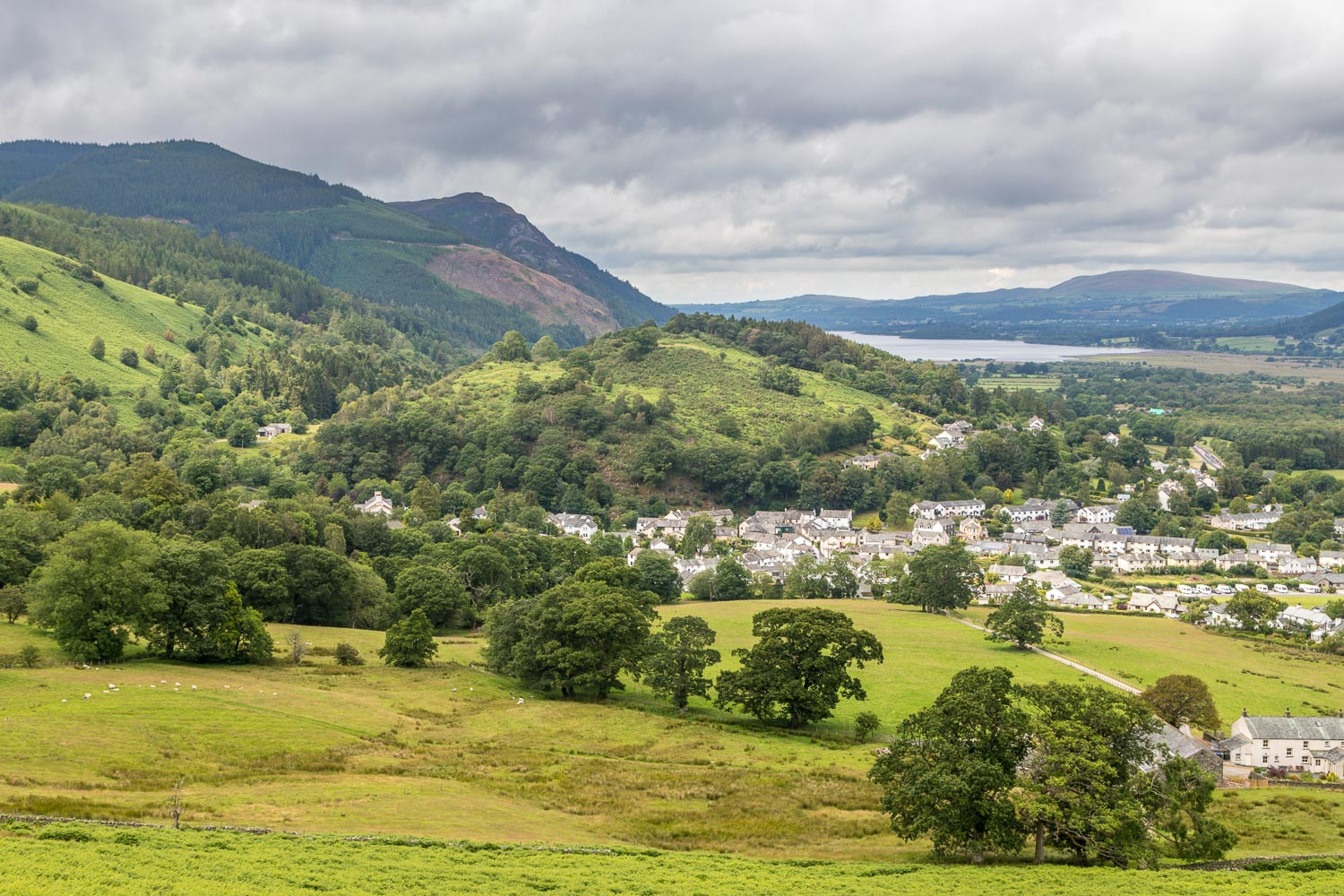 Braithwaite,  Braithwaite How and Bassenthwaite Lake