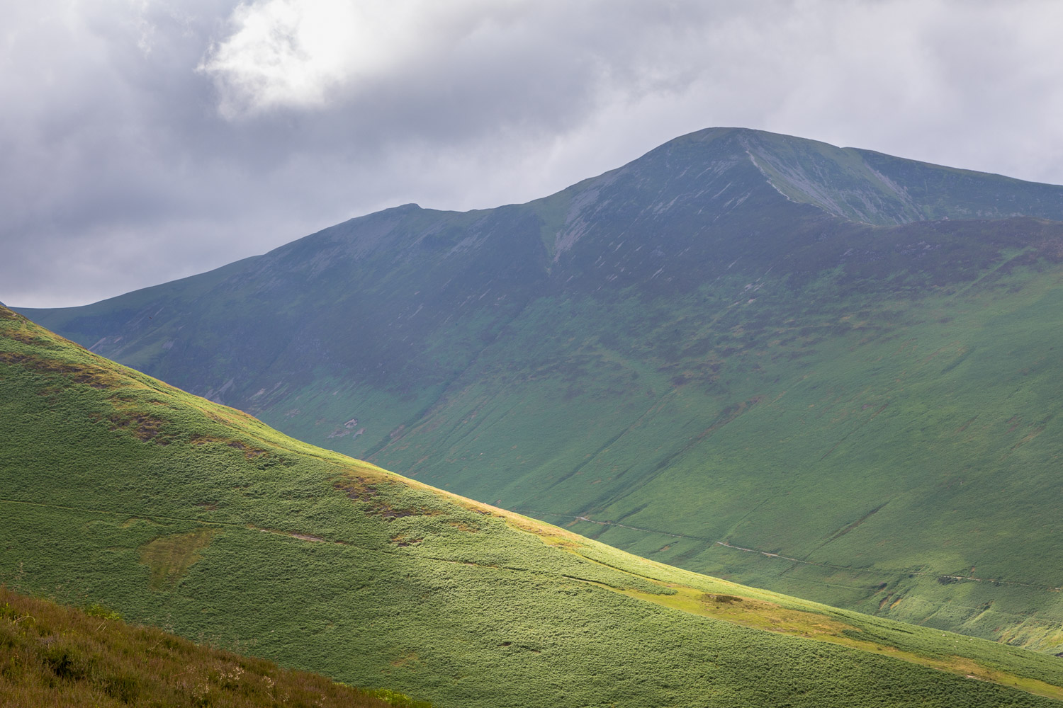 Barrow walk, Grisedale Pike