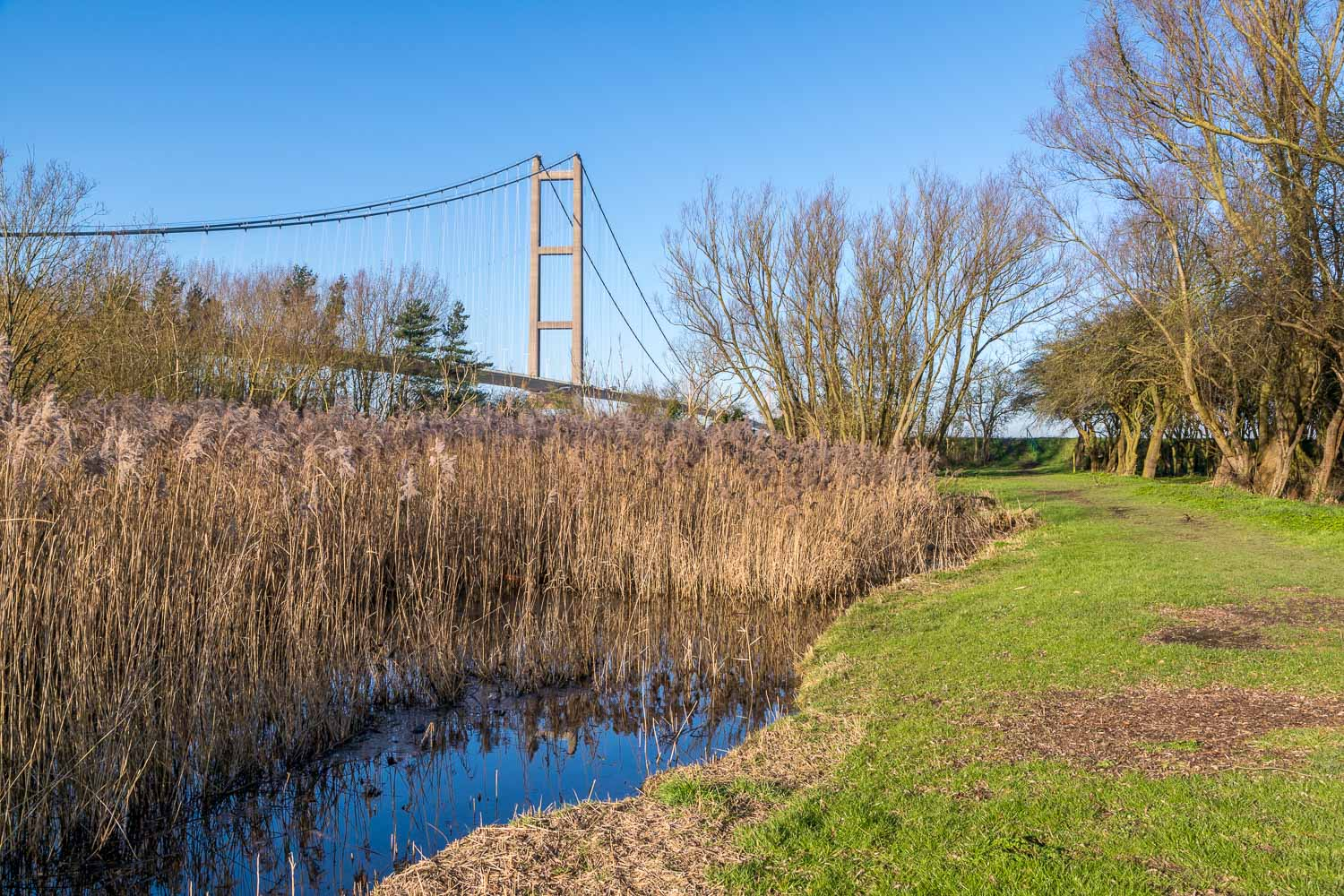 Waters Edge Country Park, Humber Bridge