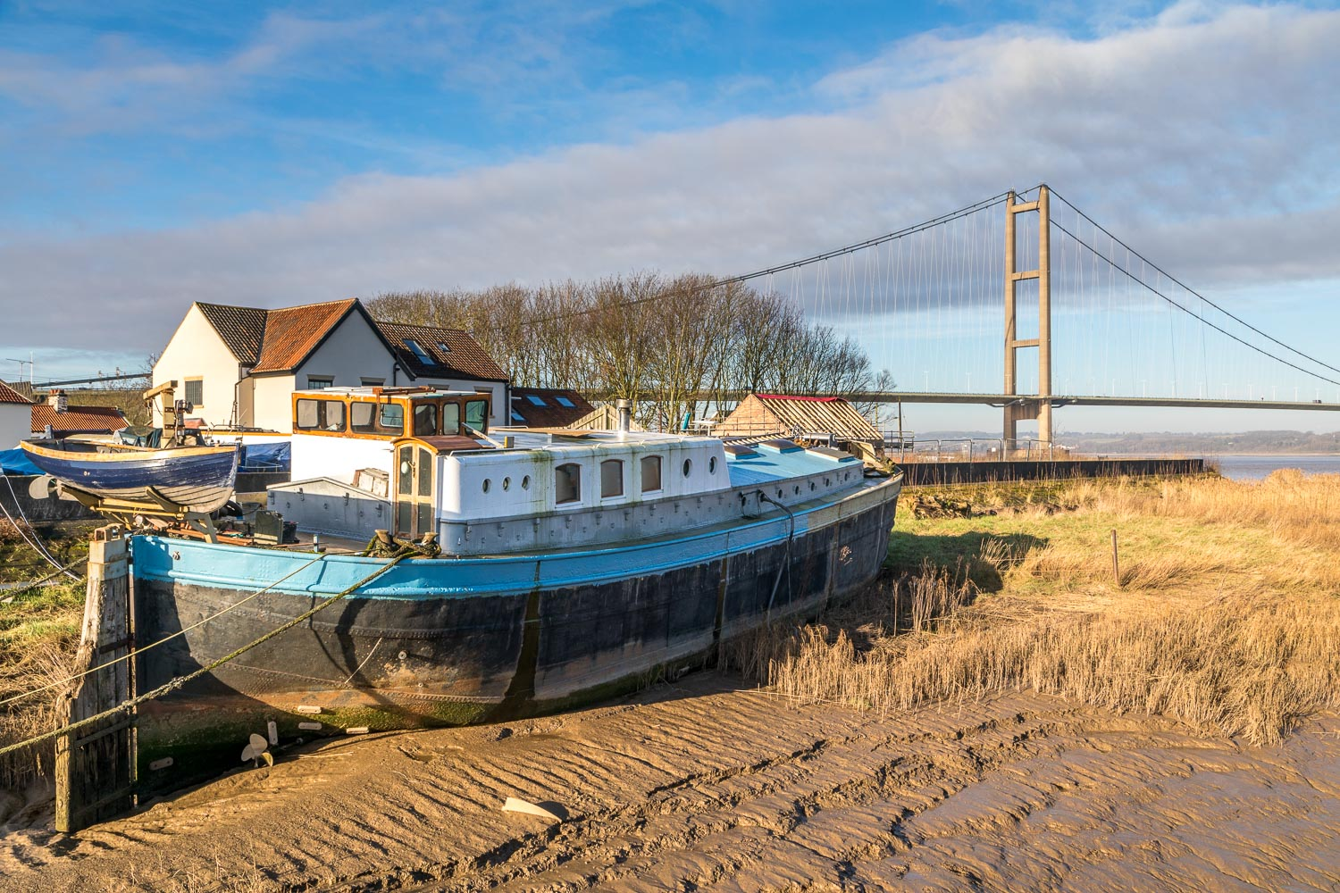 Ferry Landing, Barton Haven, Humber Bridge