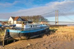 Ferry Landing, Barton Haven, Humber Bridge