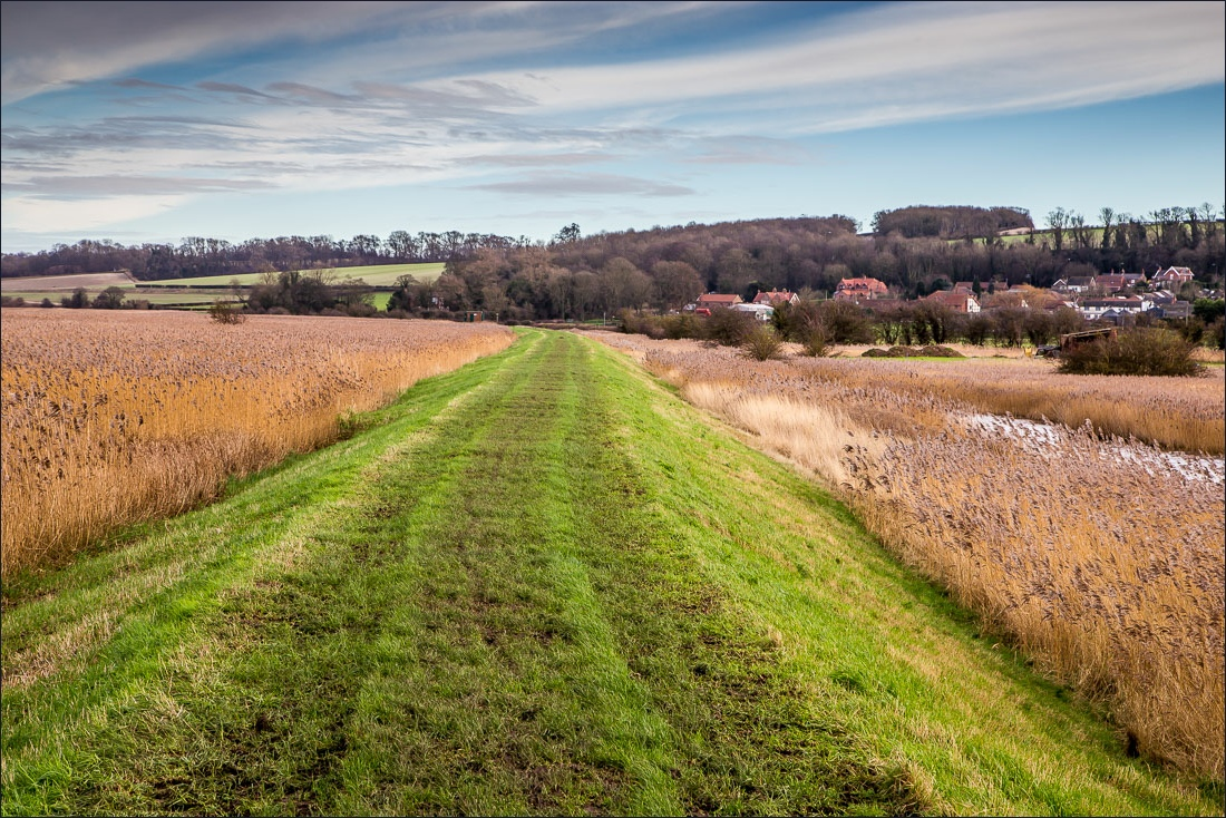 Humber embankment