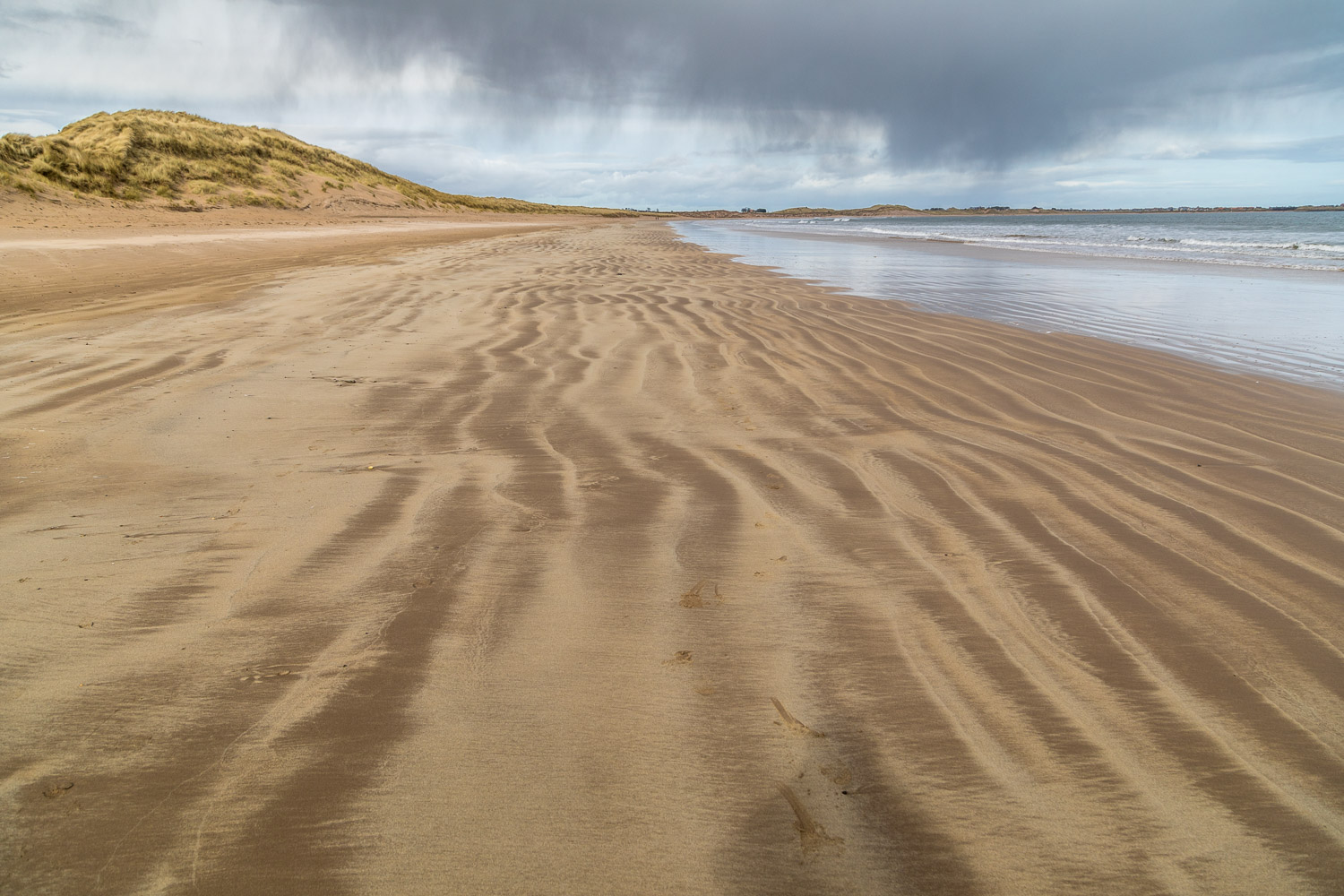 Beadnell to Craster walk, beach