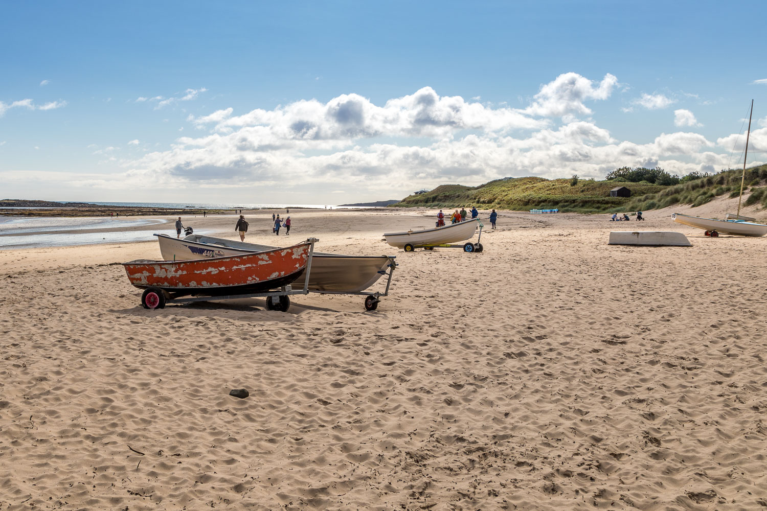 Beadnell walk, Low Newton-by-the-Sea