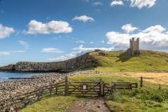 Beadnell walk, Dunstanburgh Castle