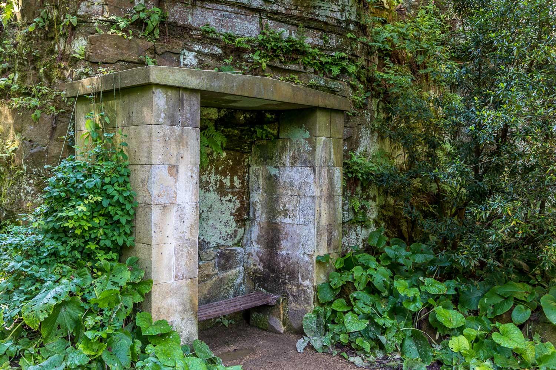 Belsay Gardens, Quarry Garden
