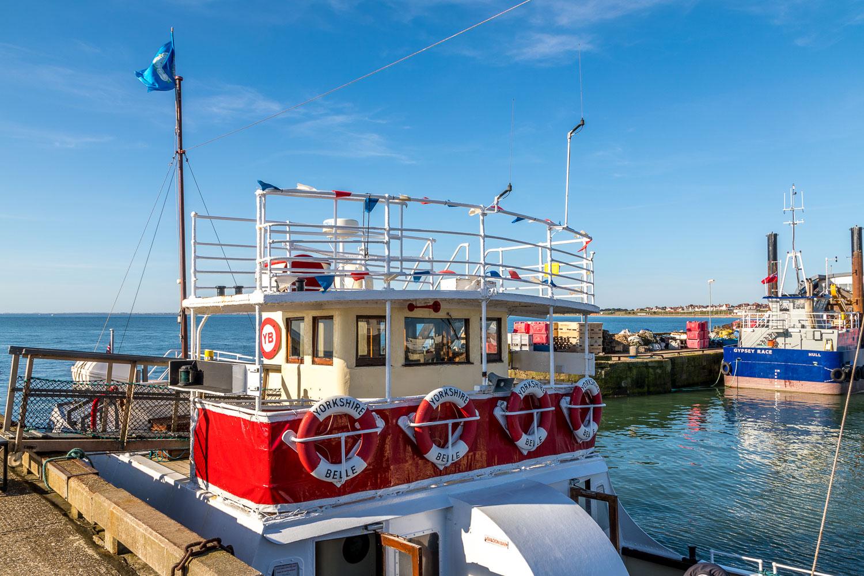 The Yorkshire Belle, Bridlington's famous pleasure cruiser