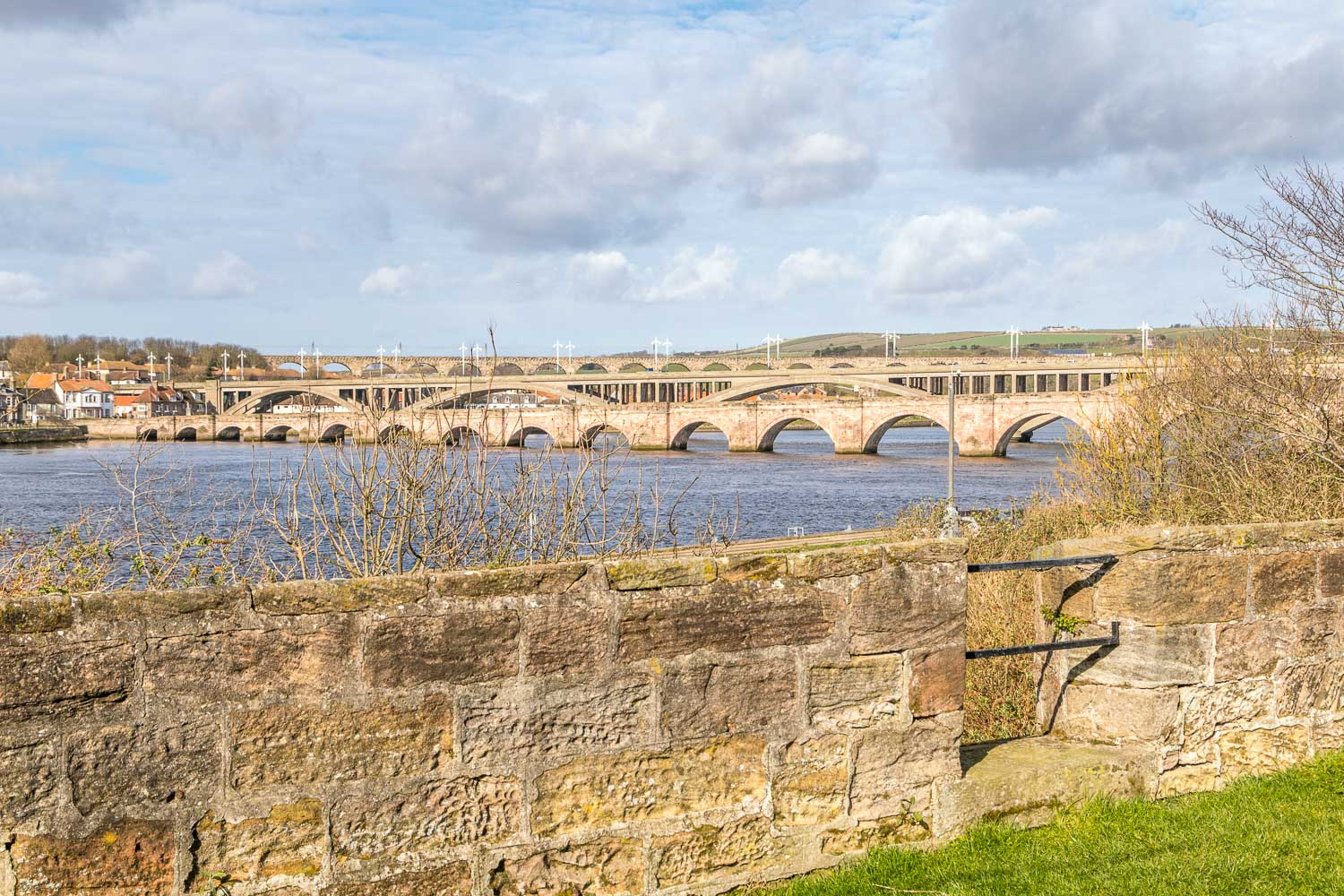 Berwick-upon-Tweed bridges