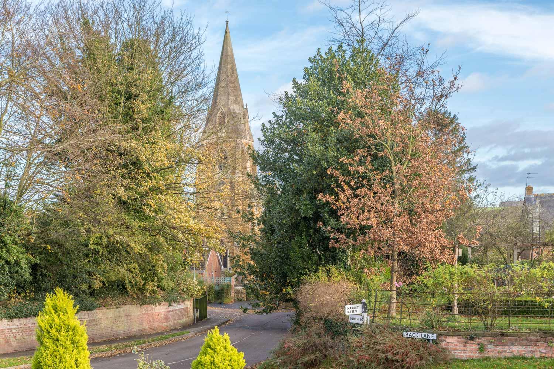 Binbrook church