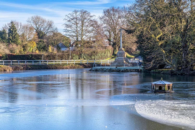 Bishop Burton pond