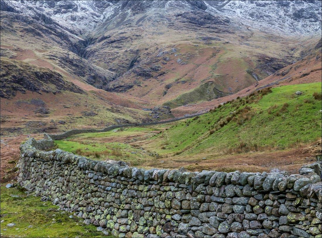 Pike o'Blisco walk, Bowfell