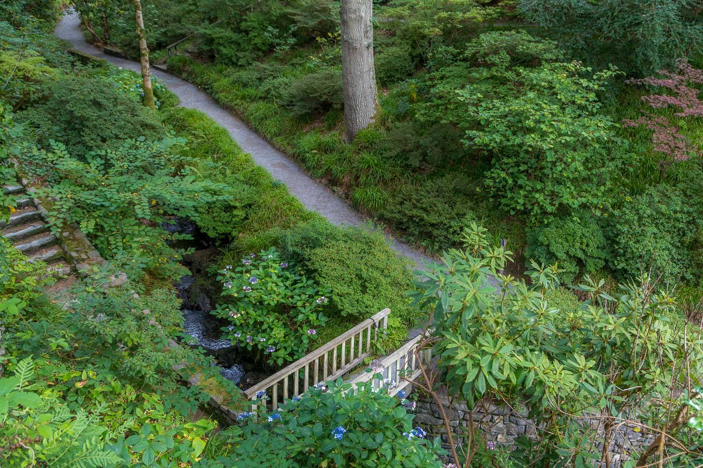Arboretum, Bodnant Garden