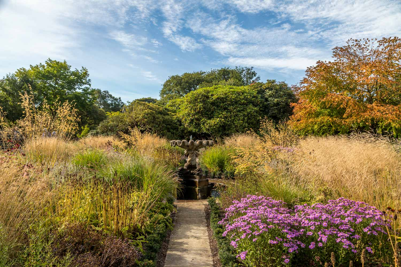 Winter Garden, Bodnant Garden