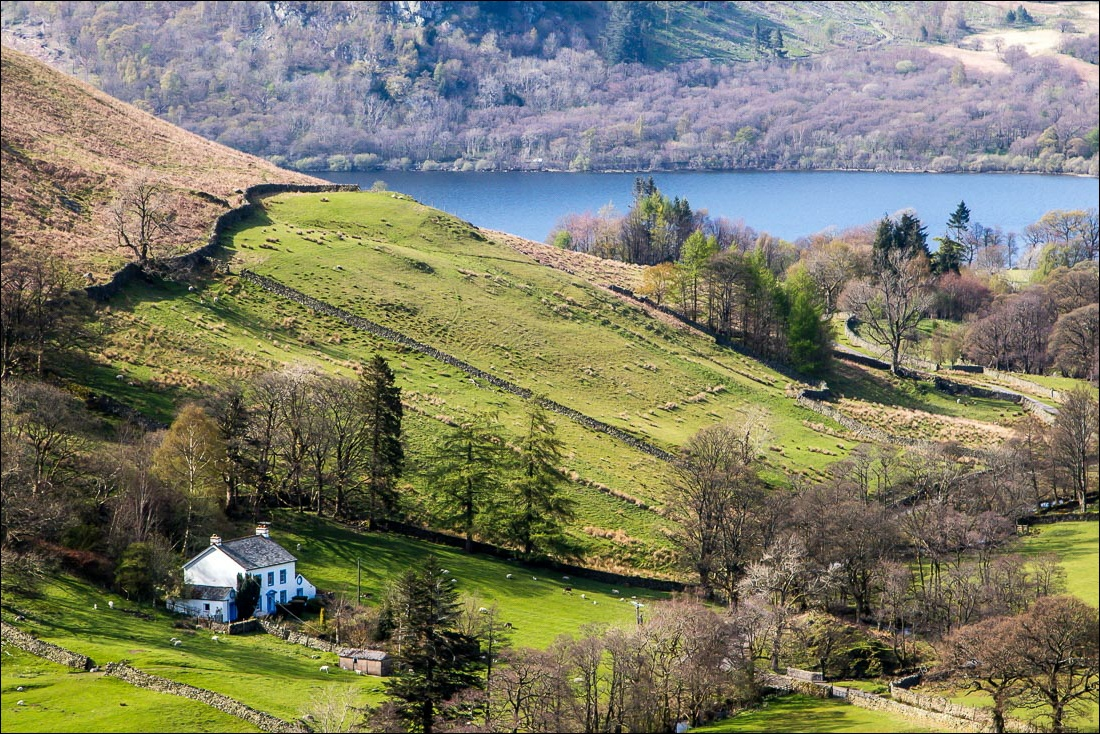 Boredale walk, view of Ullswater