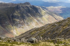 Bowfell walk, Great Slab
