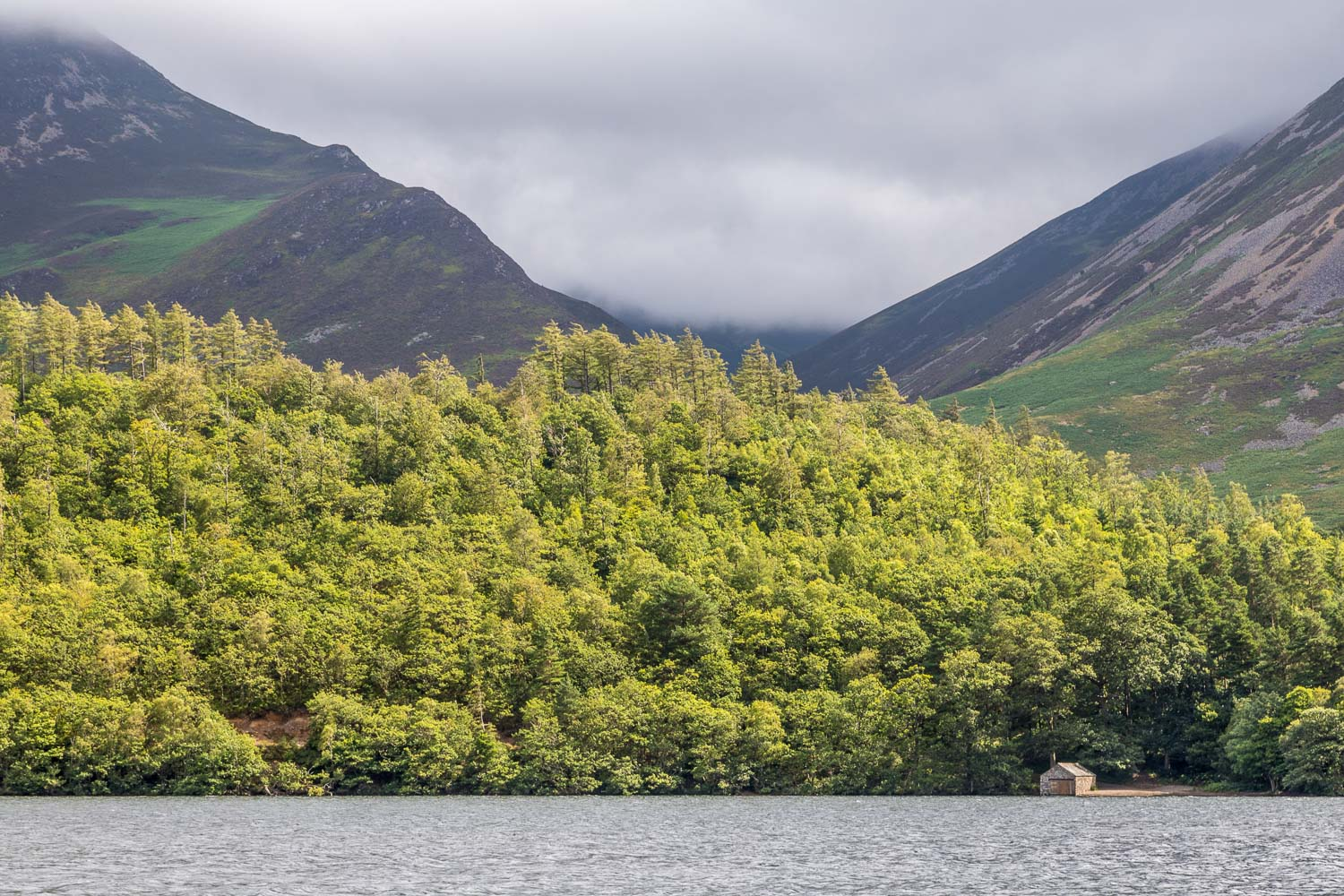 Crummock Water boathouse
