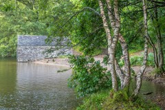 Brackenthwaite Hows walk, Crummock Water, boathouse