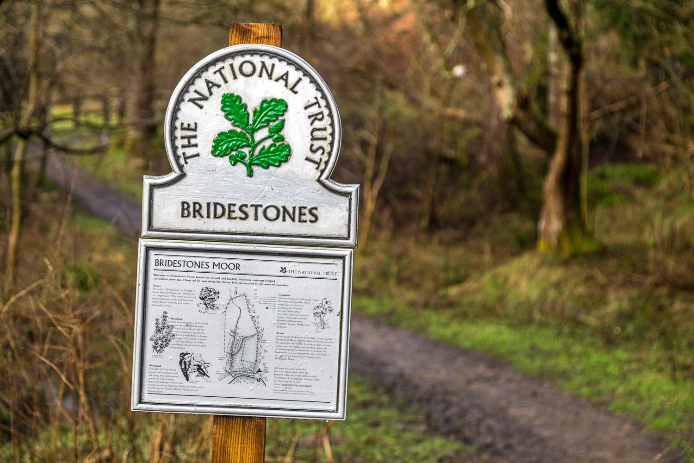 Bridestones walk