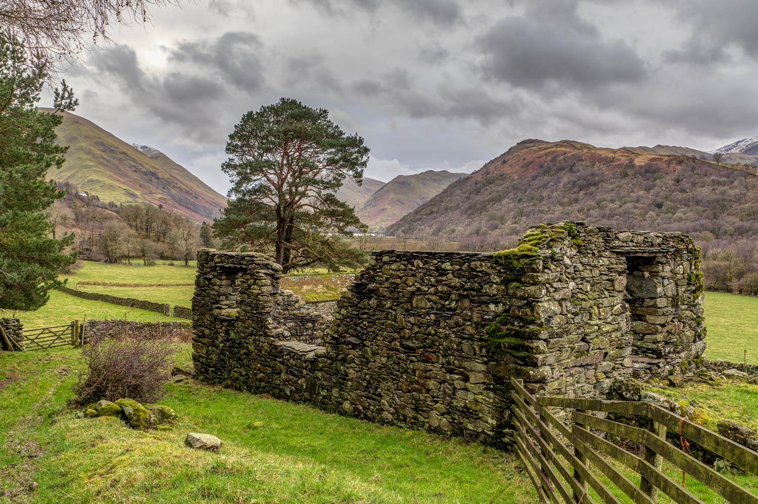 Brothers Water, old barn Patterdale