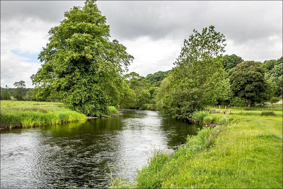 Brougham Castle walk, River Eamont