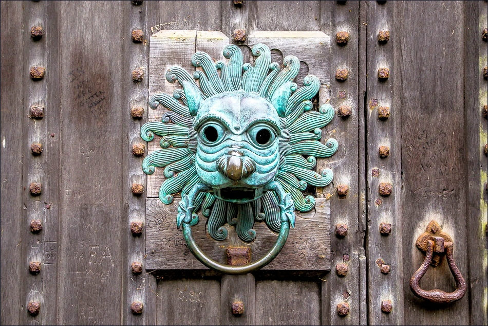 The Brougham Door Knocker