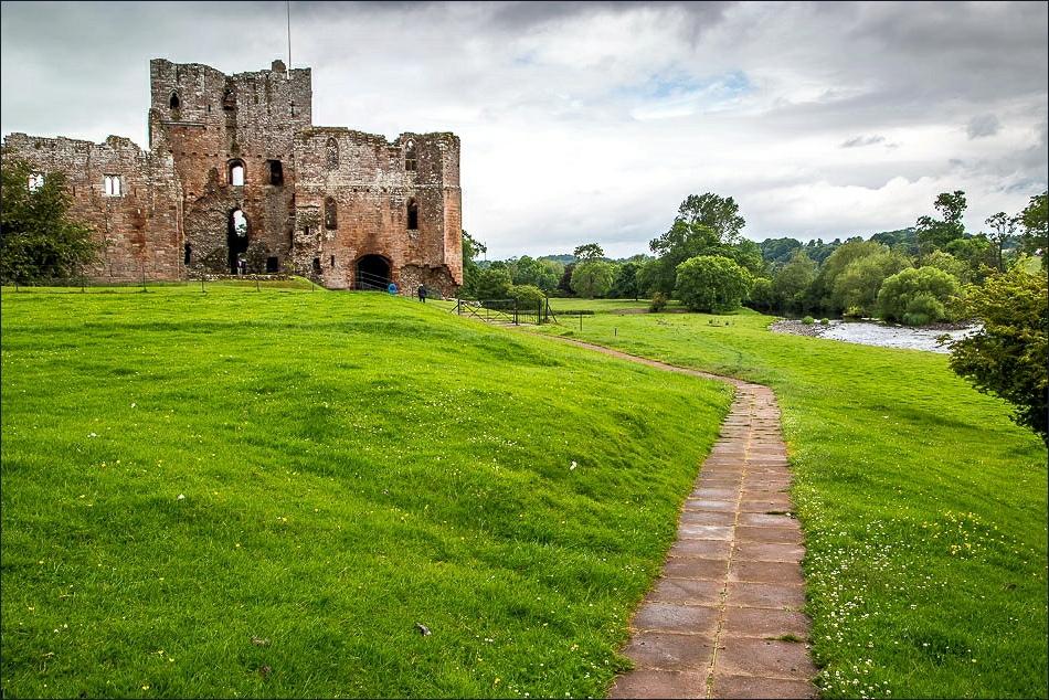 Brougham Castle, River Eamont