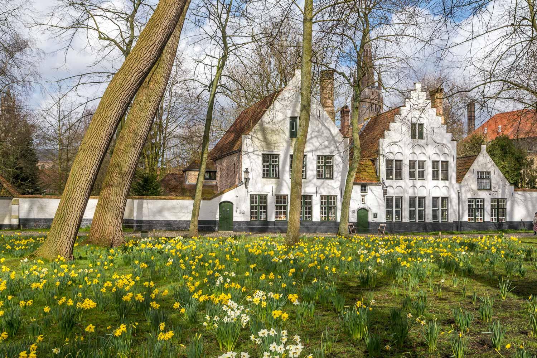 Beguinage, begijnhof, Bruges