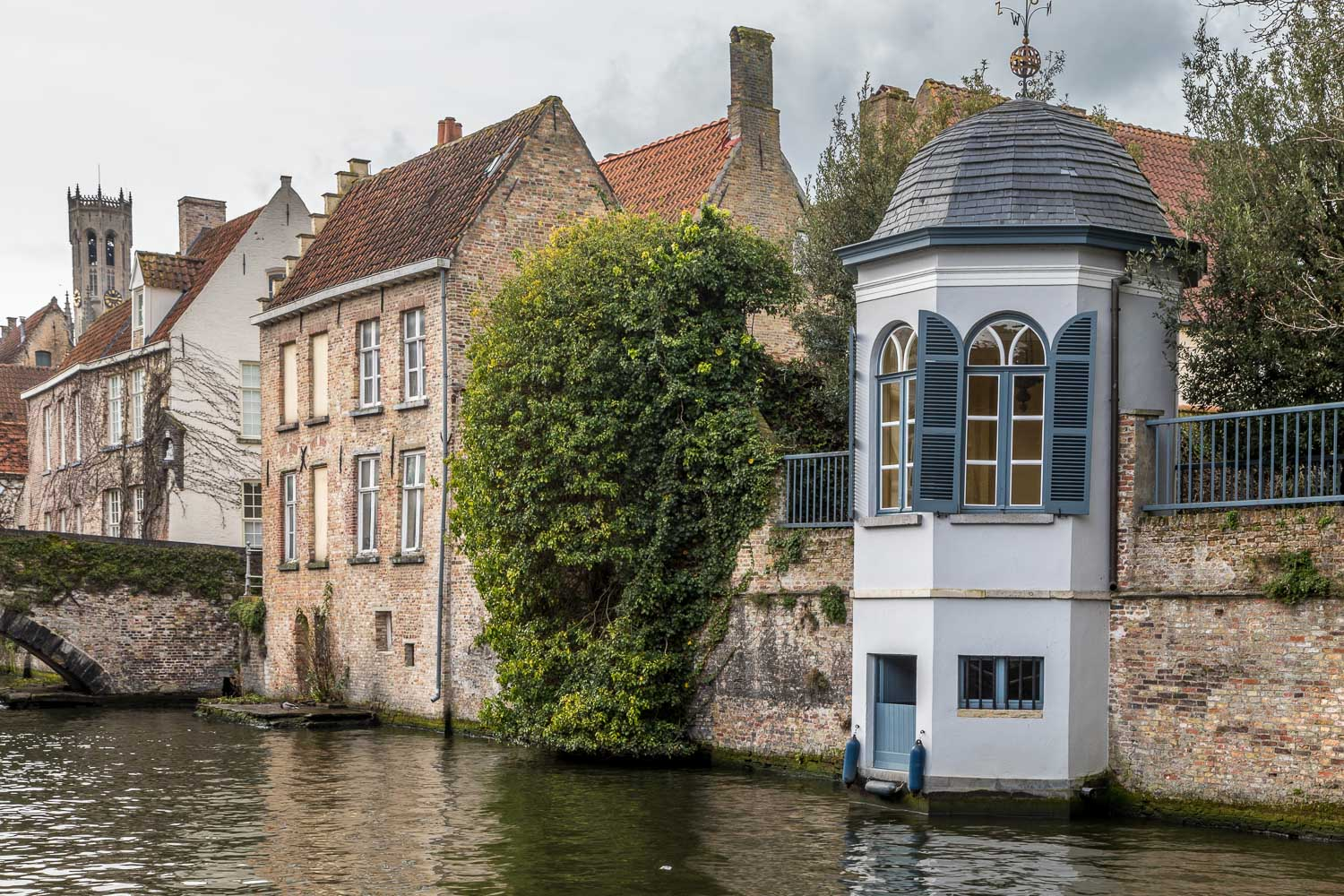 Groenerei canal, Bruges