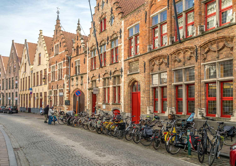 Stepped gable, Bruges