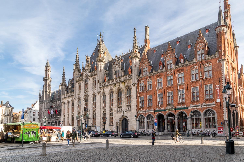 Markt, Market Square, Bruges