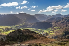 Borrowdale from Kings How